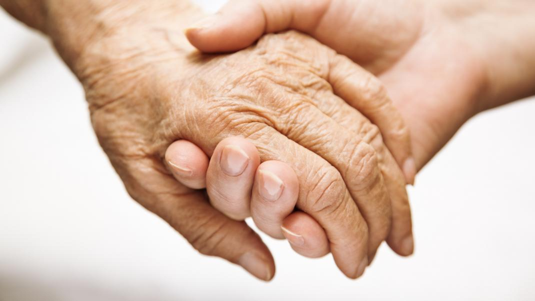 Palliative Care - Holding hand