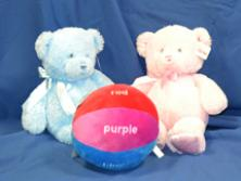 My First Teddy's & Learn the Colors Ball